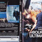 Das Bourne Ultimatum (2007) R2 German Blu-Ray Covers & Label