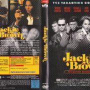 Jackie Brown (1997) R2 German DVD Cover & Label