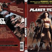 Planet Terror (2007) R2 German DVD Cover & Label