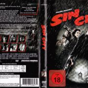 Sin City (2005) R2 German DVD Cover & Label