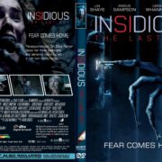 Insidious-The Last Key (2017) R1 CUSTOM DVD Cover & Label