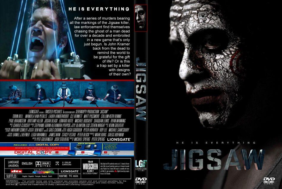 Jigsaw (2017) R1 CUSTOM DVD Cover & Label - DVDcover Com