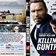 Killing Gunther (2017) R1 CUSTOM DVD Cover & Label