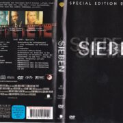 Sieben (1995) Special Edition R2 German DVD Cover & Labels