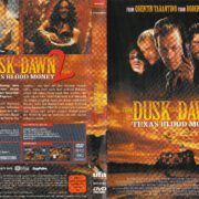 From Dusk Till Dawn 2 – Texas Blood Money (1999) R2 German DVD Cover & Label