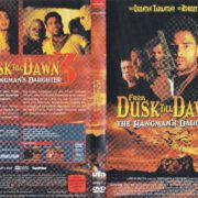 From Dusk Till Dawn 3 - The Hangman's Daughter (2000) R2 German DVD Cover & Label