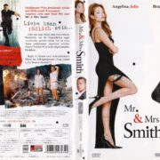 Mr. & Mrs. Smith (2005) R2 German DVD Cover & Label