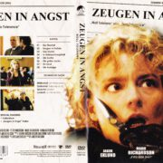 Zeugen in Angst (1999) R2 German DVD Cover & Label