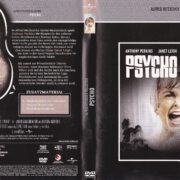 Psycho (1960) R2 German DVD Covers & Label