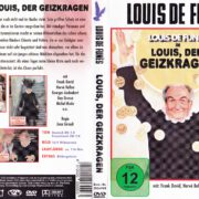 Louis, der Geizkragen (1980) R2 German DVD Cover & Label