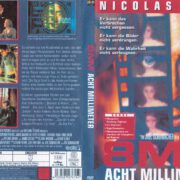 8MM – Acht Millimeter (1999) R2 German DVD Cover & Label