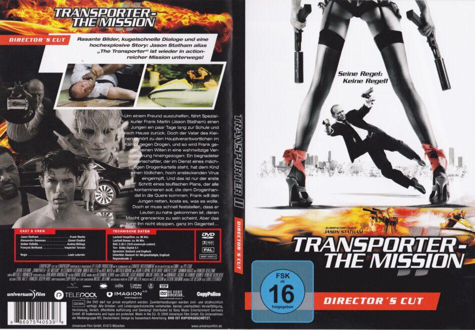 Transporter 2 DVD Release Date January 10, 2006 |Transporter 2 Dvd Cover