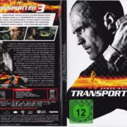 Transporter 3 (2008) R2 German DVD Cover & Label