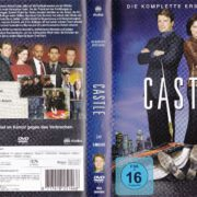 Castle - Staffel 1 (2009) R2 German DVD Cover & Labels