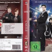 Castle - Staffel 2 (2010) R2 German DVD Cover & Labels