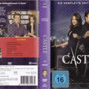 Castle – Staffel 3 (2011) R2 German DVD Cover & Labels