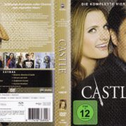 Castle – Staffel 4 (2012) R2 German DVD Cover & Labels