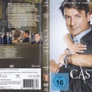 Castle – Staffel 5 (2013) R2 German DVD Cover & Labels