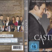 Castle – Staffel 6 (2014) R2 German DVD Cover & Labels
