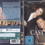 Castle - Staffel 7 (2015) R2 German DVD Cover & Labels