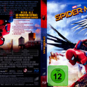 Spider-Man: Homecoming (2017) R2 German Blu-Ray Cover