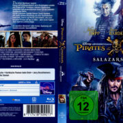 Pirates of the Caribbean: Salazars Rache (2017) R2 German Blu-Ray Cover