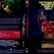 The Return of the living Dead: Verdammt, die Zombies kommen (1985) R2 German Blu-Ray Covers