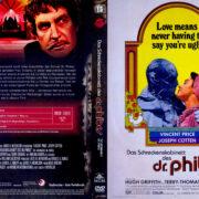Das Schreckenscabinett des Dr. Phibes (1971) R2 German DVD Covers