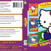 Hello Kitty Triple Pack (1987) R1 DVD Cover