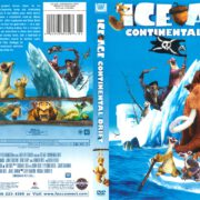 Ice Age: Continental Drift (2012) R1 DVD Cover