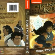 The Legend of Korra Book Two: Spirits (2013) R1 DVD Cover