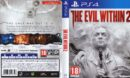The Evil Within 2 (2017) PAL PS4 Cover