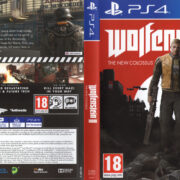 Wolfenstein II: The New Colossus (2017) PAL PS4 Cover