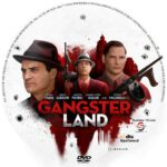 Gangster Land (2017) R1 CUSTOM DVD Label