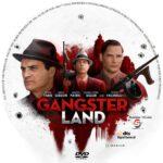 Gangster Land (2017) R1 CUSTOM DVD Label