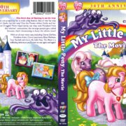 My Little Pony: The Movie 30th Anniversary Edition (2014) R1 DVD Cover