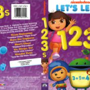 Nickelodeon Let's Learn 123s (2013) R1 DVD Cover