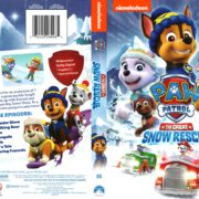 Paw Patrol: The Great Snow Rescue (2017) R1 DVD Cover
