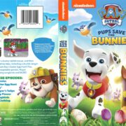 Paw Patrol: Pups Save the Bunnies (2017) R1 DVD Cover