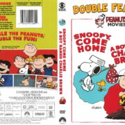 Peanuts Double Feature: Snoopy Come Home/A Boy Named Charlie Brown (2015) R1 DVD Cover