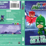 PJ Masks: Time to Be a Hero (2017) R1 DVD Cover