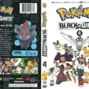 Pokemon Black & White Volume 4 (2013) R1 DVD Cover