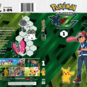 Pokemon XYZ Volume 1 (2017) R1 DVD Cover
