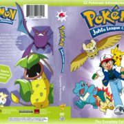 Pokemon Johto League Champions (2016) R1 Custom DVD Cover