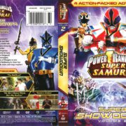 Power Rangers Super Samurai Volume 2: Super Showdown (2012) R1 DVD Cover