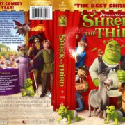 Shrek the Third (2007) R1 DVD Cover