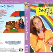 Signing Time Volume 6: My Favorite Things (2004) R1 DVD Cover