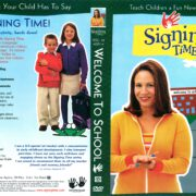 Signing Time Volume 13: Welcome to School (2006) R1 DVD Cover