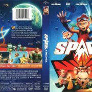 Spark: A Space Tail (2017) R1 DVD Cover