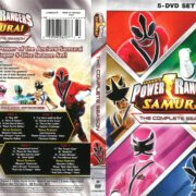 Power Rangers Samurai Complete Season (2017) R1 DVD Cover